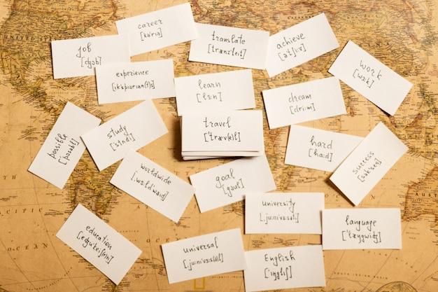 Nauka angielskich słów. podróżować