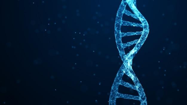 Nauki medyczne, biotechnologia genetyczna, biologia chemiczna, koncepcja komórek genowych