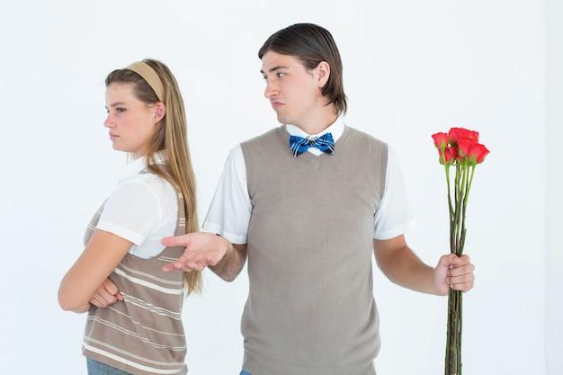 Naukowa modniś para no opowiada po argumenta