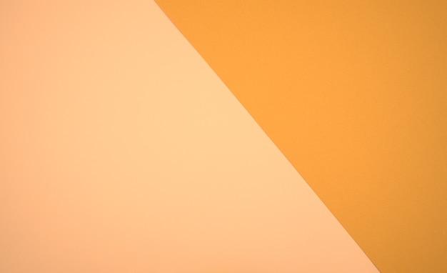 Neutralny pastelowy różowy żółty spalony sienna twotone kolory czysty papier abstrakcyjne tło