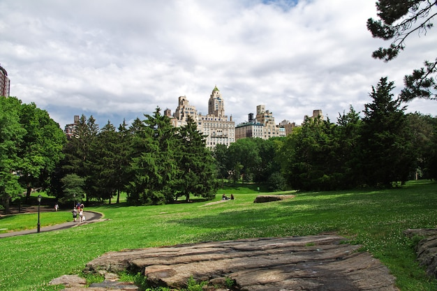 New york central park, stany zjednoczone
