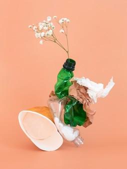 Nie ekologiczne elementy plastikowe