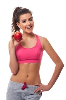 Nie ma to jak zdrowe jedzenie i ćwiczenia