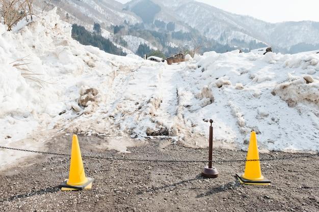 Nie podpisuj żadnego wpisu w obszarze śniegu