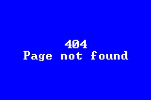 Nie znaleziono strony błąd 404