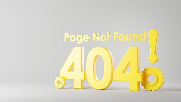 Nie znaleziono strony renderowania 3d błędu 404 dla twojego projektu makiety