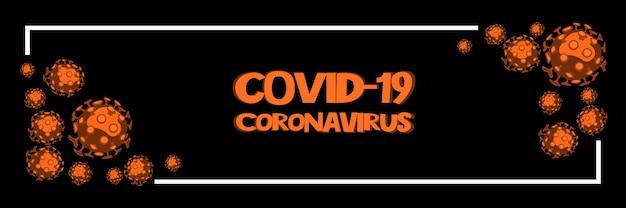 Niebezpieczny wirus koronowy sars koncepcja ryzyka pandemicznego ilustracja 3d