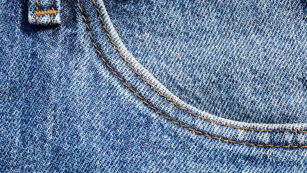 Niebiescy dżinsy tekstura i tło