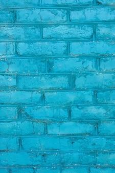 Niebieska cegła ściana tekstur