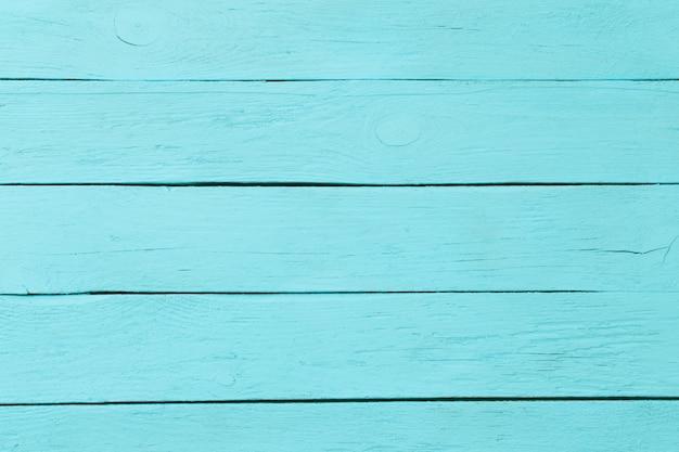 Niebieska drewniana przestrzeń