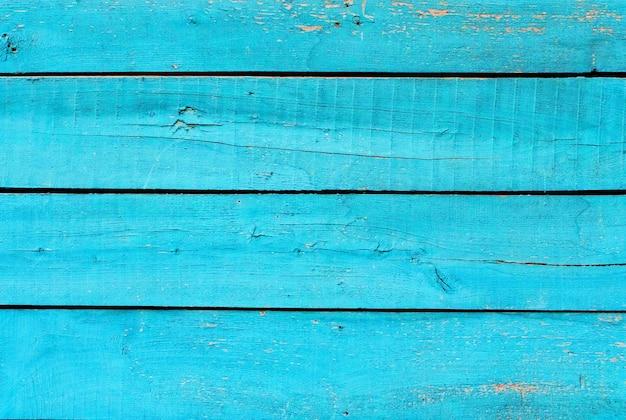 Niebieska drewniana tekstura