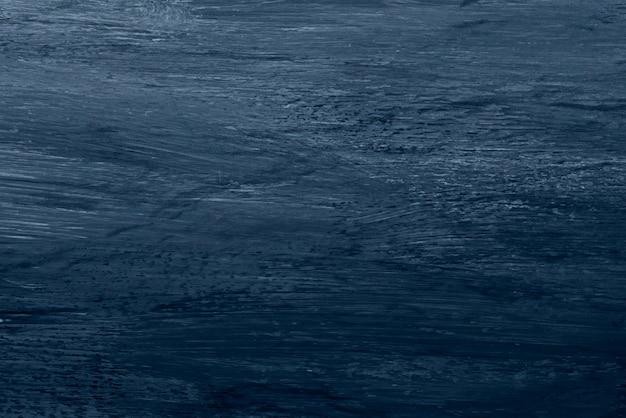 Niebieska farba olejna pociągnięcie pędzla teksturowane tło