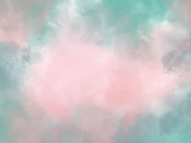 Niebieska i różowa abstrakcyjna powierzchnia