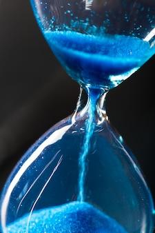 Niebieska klepsydra
