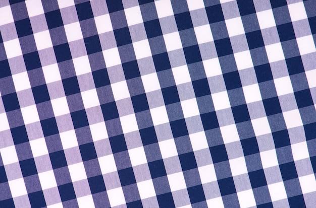 Niebieska kratka powierzchnia niebiesko-biała powierzchnia.