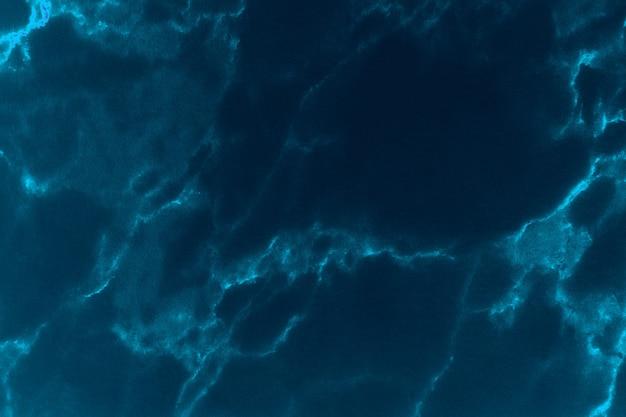Niebieska marmurowa powierzchnia tekstury