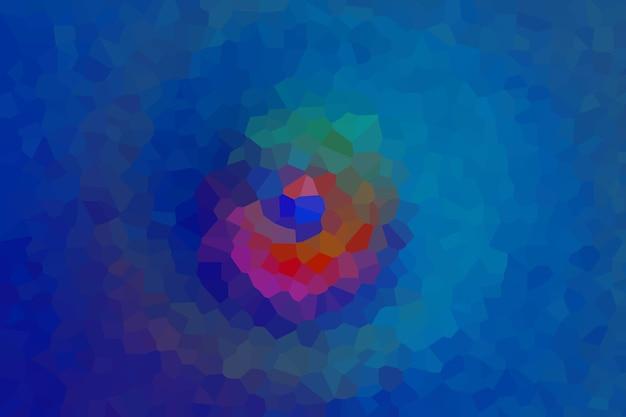 Niebieska mozaika abstrakcyjny wzór tekstury, tapeta z miękkim rozmyciem tła