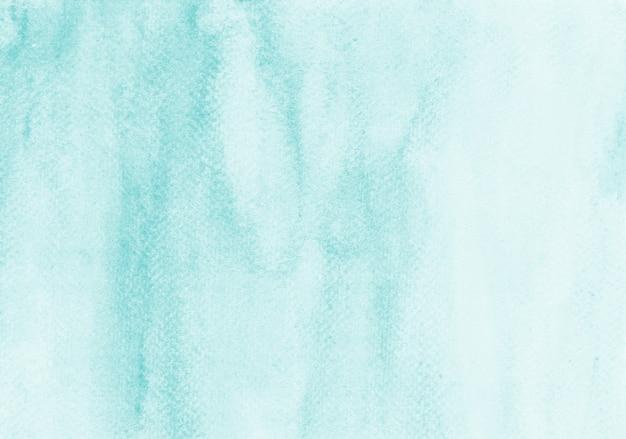 Niebieska pastelowa akwarela ręcznie malowana tekstura malarstwo abstrakcyjne tło zatrudnia zeskanowany plik