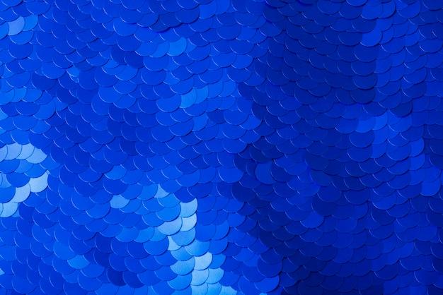 Niebieska świąteczna abstrakcyjna powierzchnia