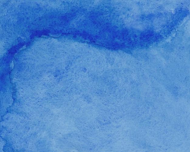 Niebieska tekstura papieru akwarela
