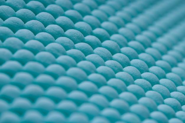 Niebieska tekstura wycieraczka lub dywan