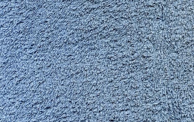 Niebieska tkanina o długich włóknach