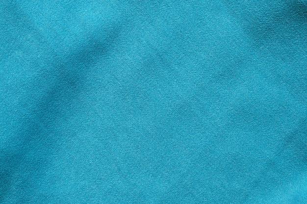 Niebieska tkanina odzieżowa tekstura wzór tła