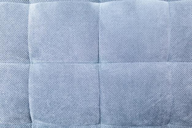 Niebieska tkanina tekstura