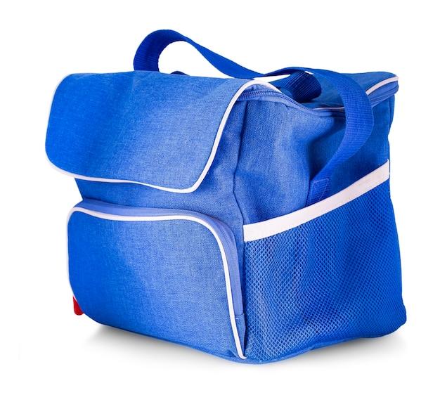 Niebieska torba dżinsowa