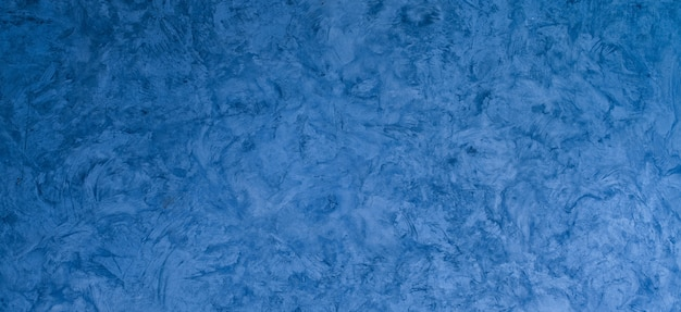 Niebieska zaprawa tekstura tło, niebieska ściana, pęknięcie tło ściana, betonowa tekstura