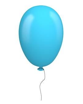 Niebieski balon