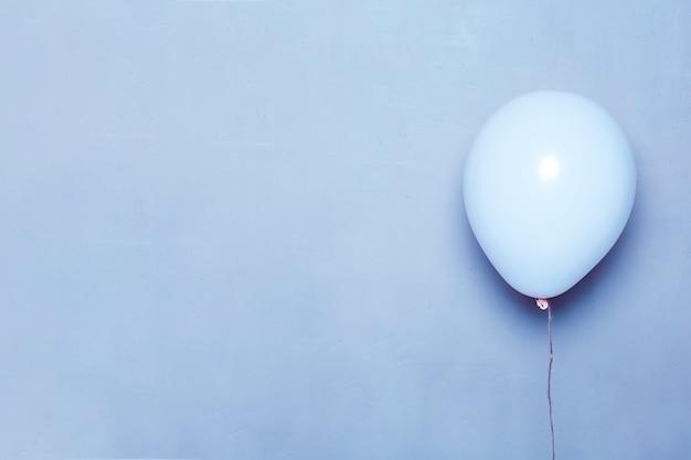 Niebieski balonik