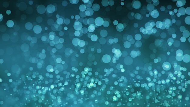 Niebieski brokat glamour tło bokeh
