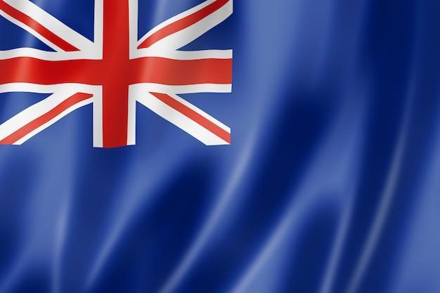 Niebieski chorąży, flaga wielkiej brytanii