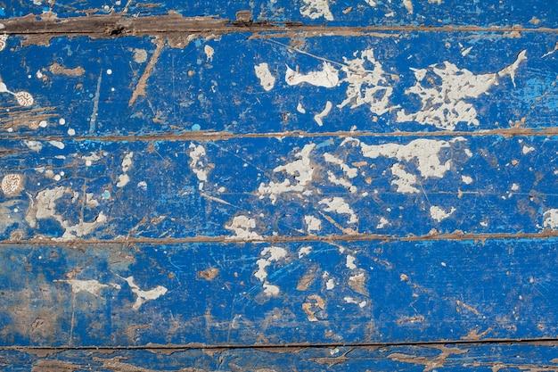 Niebieski drewna