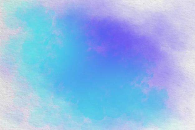 Niebieski fioletowy akwarela akryl ręcznie rysowane tła