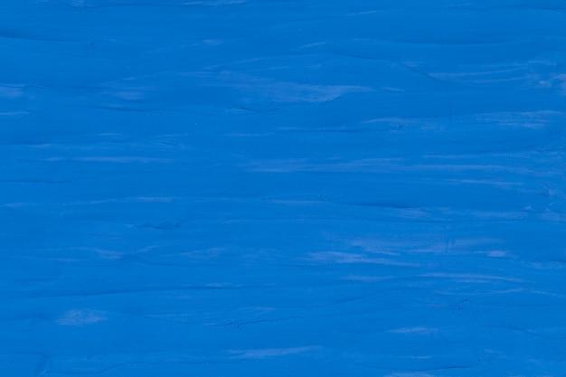Niebieski glina teksturowane tło kolorowe ręcznie robione sztuki abstrakcyjnej stylu