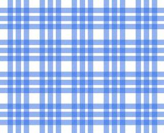 Niebieski i biały obrus, wzór