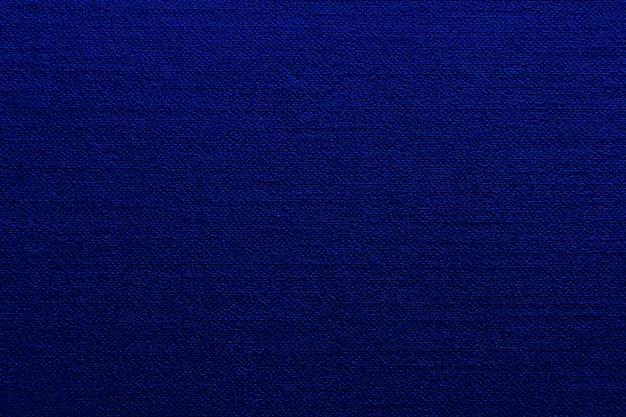 Niebieski kolor tekstury tkaniny