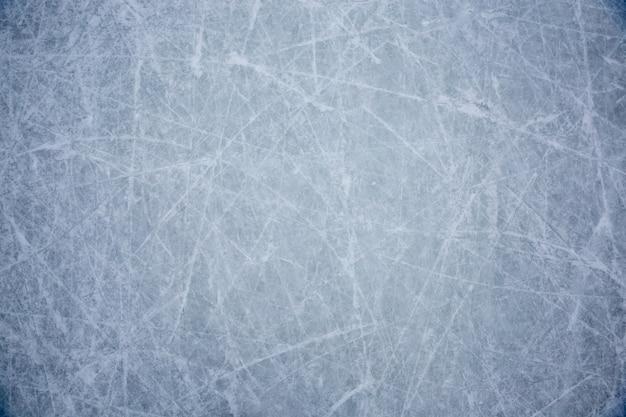 Niebieski lód tekstura tło z drapaki