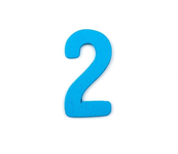 Niebieski numer dwa