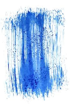 Niebieski pociągnięcie pędzla. abstrakcyjne tło. miejsce na własny tekst. ilustracja rastrowa