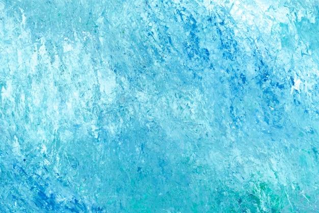 Niebieski pociągnięcie pędzla teksturowane tło wektor