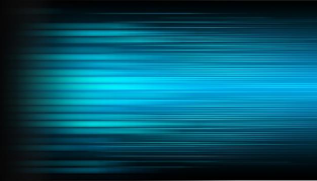Niebieski ruch light abstract