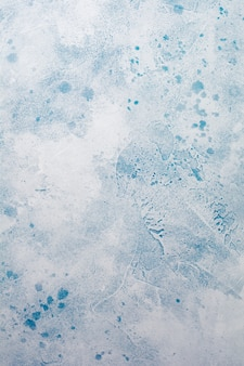 Niebieski streszczenie snowy betonu tekstura tło lub łupek ściany.