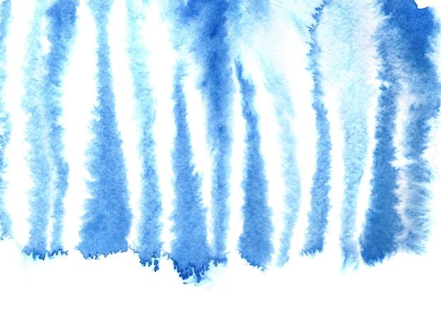 Niebieski wzór skóry zebry. akwarela streszczenie tło. ilustracja rastrowa
