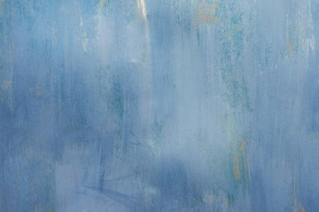 Niebieski zardzewiały teksturowanej metalowe tło. kopiuj przestrzeń dla projektantów.