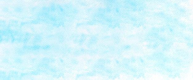 Niebieskie akwarele