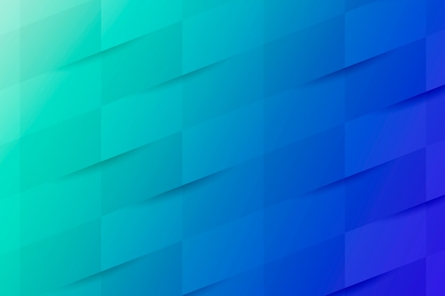 Niebieskie i turkusowe tło wzór geometryczny
