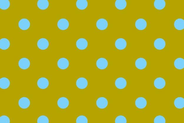 Niebieskie kropki z kolorowym tłem